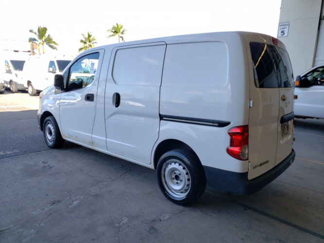 2015 WHITE Chevrolet City Express Cargo Van LT (3N63M0ZN2FK) with an 4 Cylinder Engine engine, Automatic transmission, located at 368 Huku Lii Pl, Kihei, HI, 96753, (808) 875-8782, 20.773748, -156.452103 - Photo #0