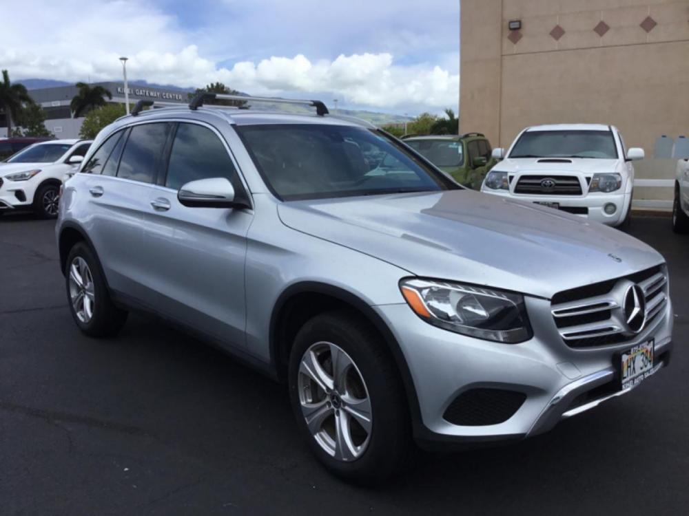 2018 GREY Mercedes-Benz GLC GLC 300 (WDC0G4JB2JV) with an 4 Cylinder Engine engine, Automatic transmission, located at 368 Huku Lii Pl, Kihei, HI, 96753, (808) 875-8782, 20.773748, -156.452103 - Photo #0